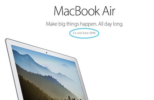 Apple ngừng bán MacBook Air 11 inch, MacBook Pro cũ