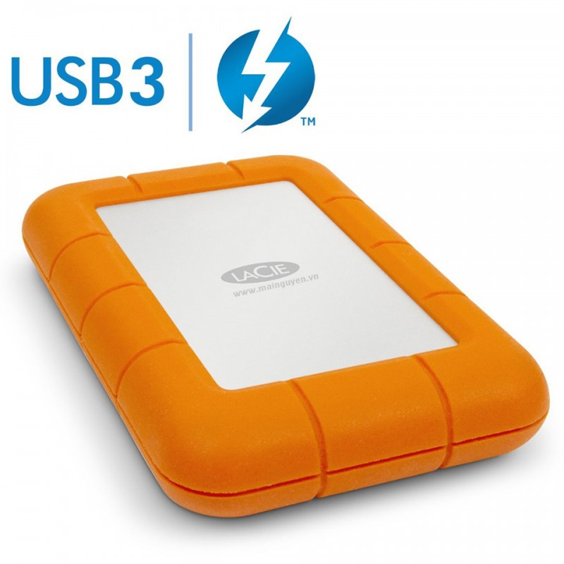 HDD LaCie 1TB Rugged USB 3.0 Thunderbolt Series 1
