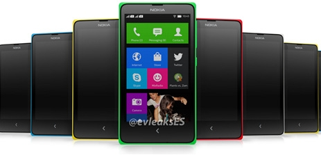 Giao diện smartphone Android của Nokia như Windows Phone