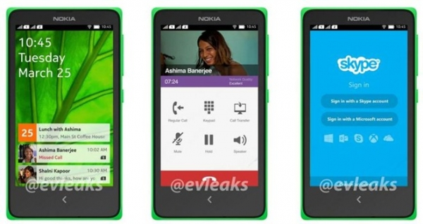 Nokia A110 chạy Android 4.4 giá rẻ sắp ra mắt