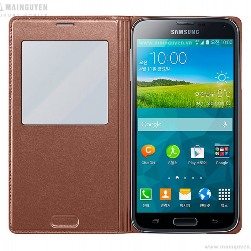 Samsung Galaxy S5 S-View Cover 6
