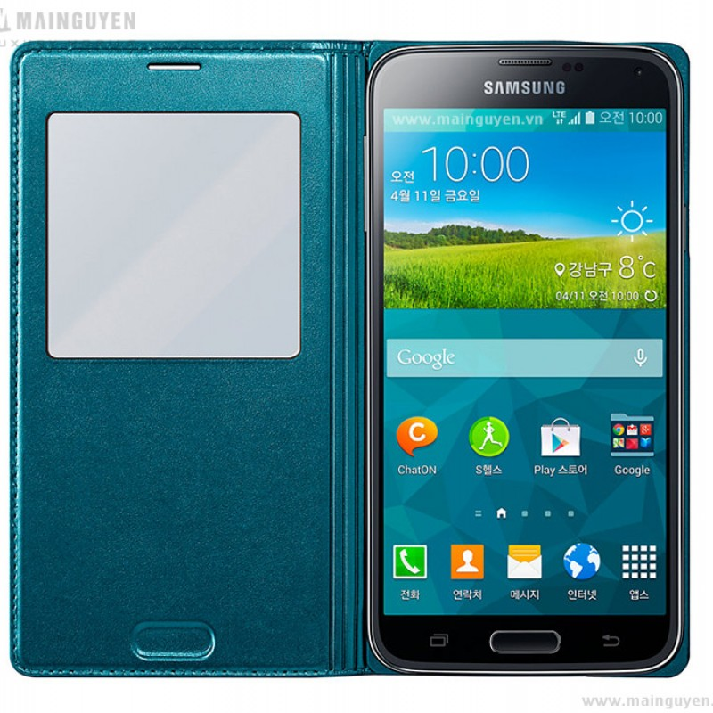 Samsung Galaxy S5 S-View Cover 9