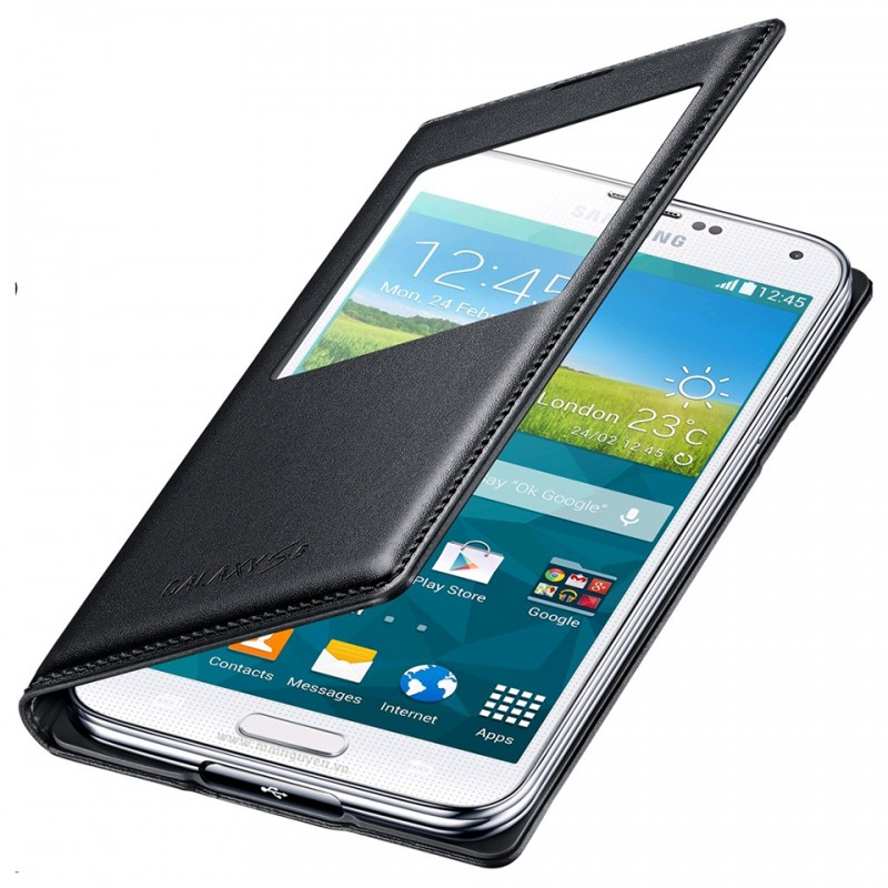 Samsung Galaxy S5 S-View Cover Wireles 6