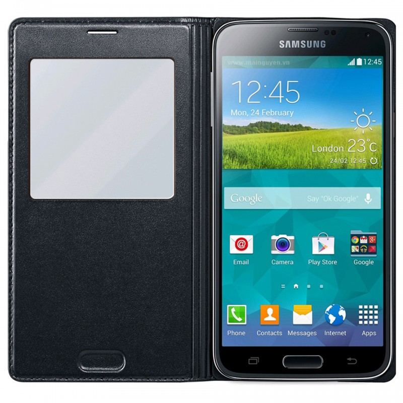 Samsung Galaxy S5 S-View Cover Wireles 7