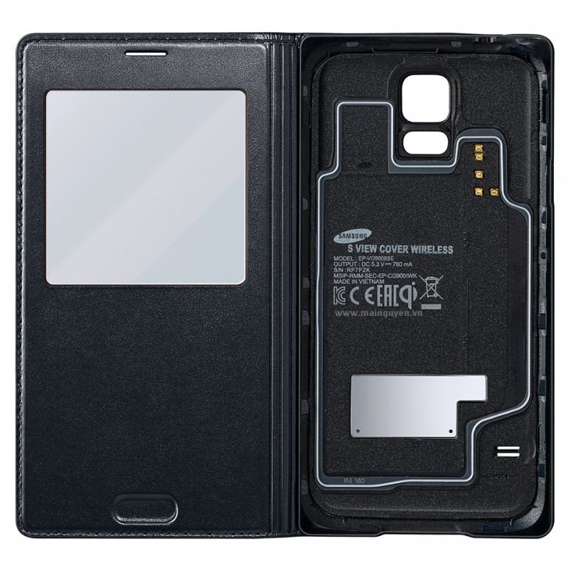 Samsung Galaxy S5 S-View Cover Wireles 8