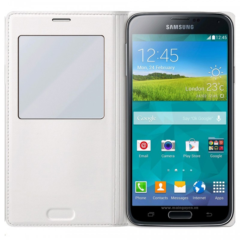 Samsung Galaxy S5 S-View Cover Wireles 3