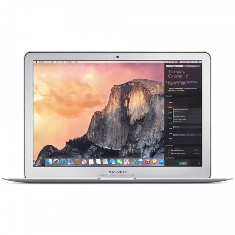 MacBook Air 11.6 inch, 1.6GHz, 128GB, MJVM2ZP/A (2015) 1