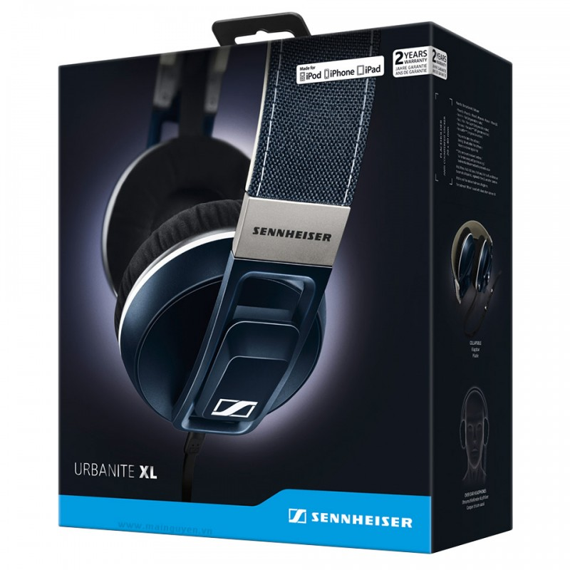 Tai nghe Sennheiser URBANITE XL cho iPhone, iPod, iPad 20