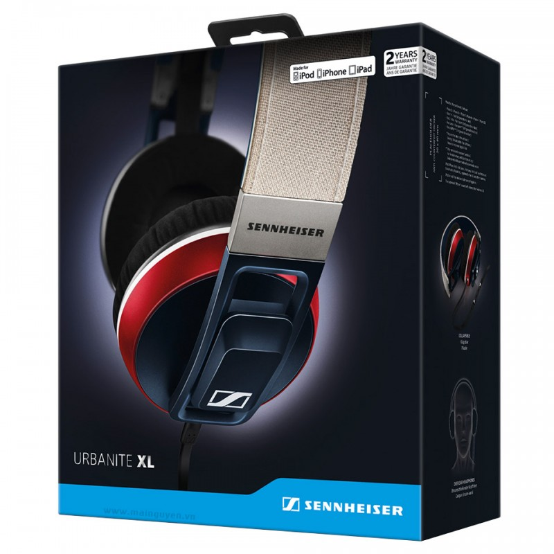 Tai nghe Sennheiser URBANITE XL cho iPhone, iPod, iPad 10