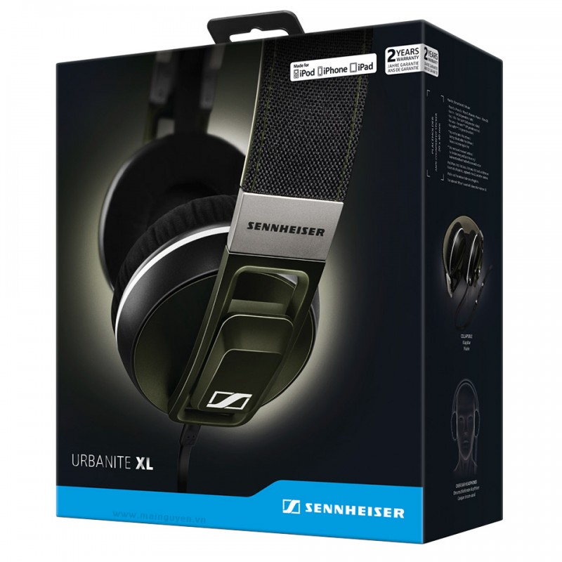 Tai nghe Sennheiser URBANITE XL cho iPhone, iPod, iPad 5