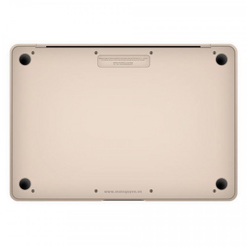 Miếng dán bảo vệ JCPal MacGuard (3 in 1) cho New MacBook 12 inches 4