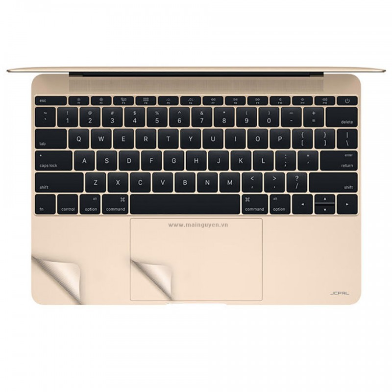 Miếng dán bảo vệ JCPal MacGuard (3 in 1) cho New MacBook 12 inches 2