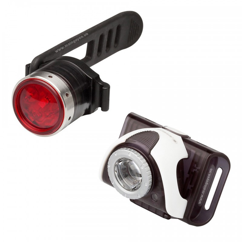 Đèn xe đạp Led Lenser SEO Bike B3 front + B2R Red rear 1