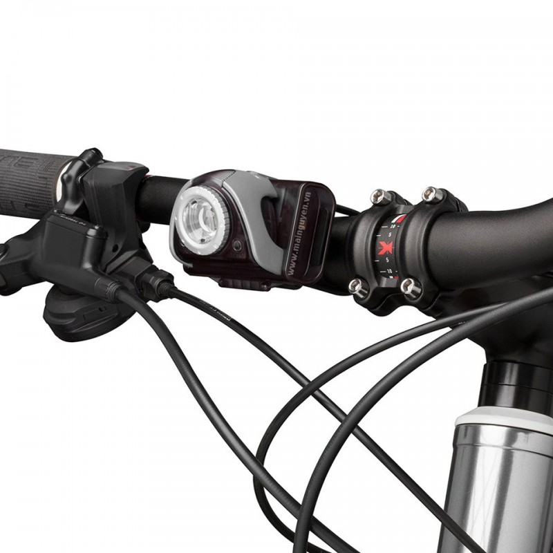 Đèn xe đạp Led Lenser SEO Bike B5R front + B2R Red rear 3