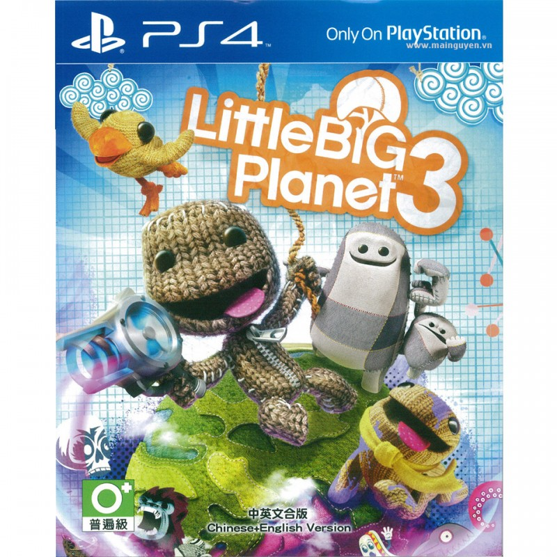 Little Big Planet 3 (PCAS-00012)