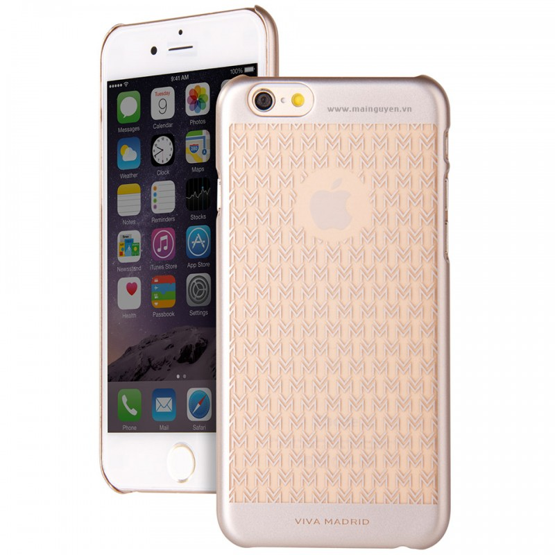 Ốp lưng cho iPhone 6 Viva Madrid Metalino 1