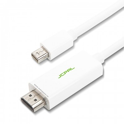 JCPAL Mini DisplayPort to HDMI Adapter 0.9m