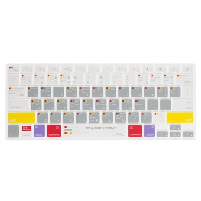 Lót bàn phím JCPAL Verskin Learn Macbook for MacBook 12 (JCP2176)