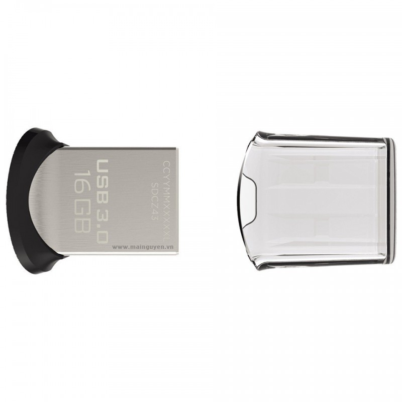USB SanDisk Ultra Fit 3.0 Flash Drive 16GB 3