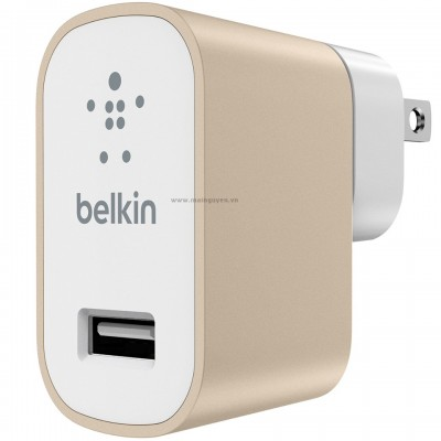 Adapter sạc Belkin Premium Home USB Charger 2.4A F8M731dq