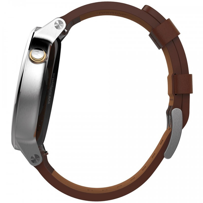 Motorola Moto 360 46mm Leather Band (2nd gen) 5