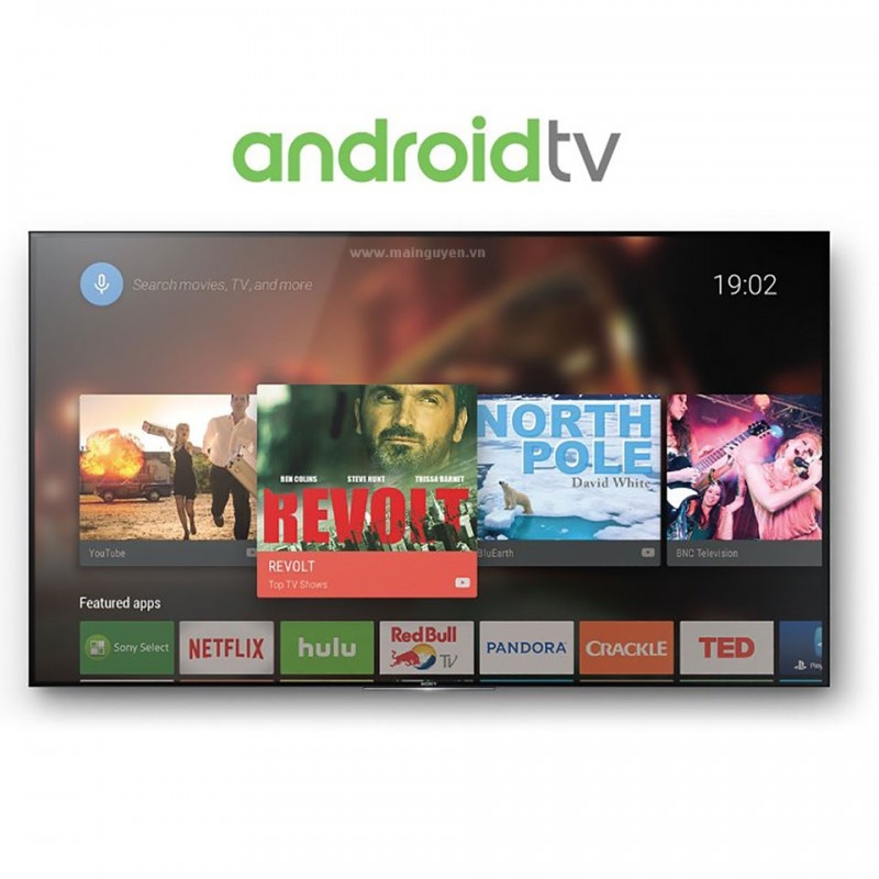 Tivi Sony 4K 3D HDR Android X9300D 55 inch model 2016 (KD-55X9300D) 9