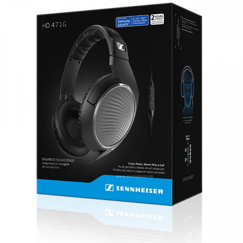 Tai nghe Sennheiser HD 471G for Android 8