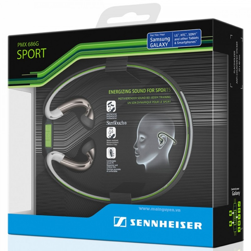 Tai nghe Sennheiser PMX 686i Sports (For Apple) 4