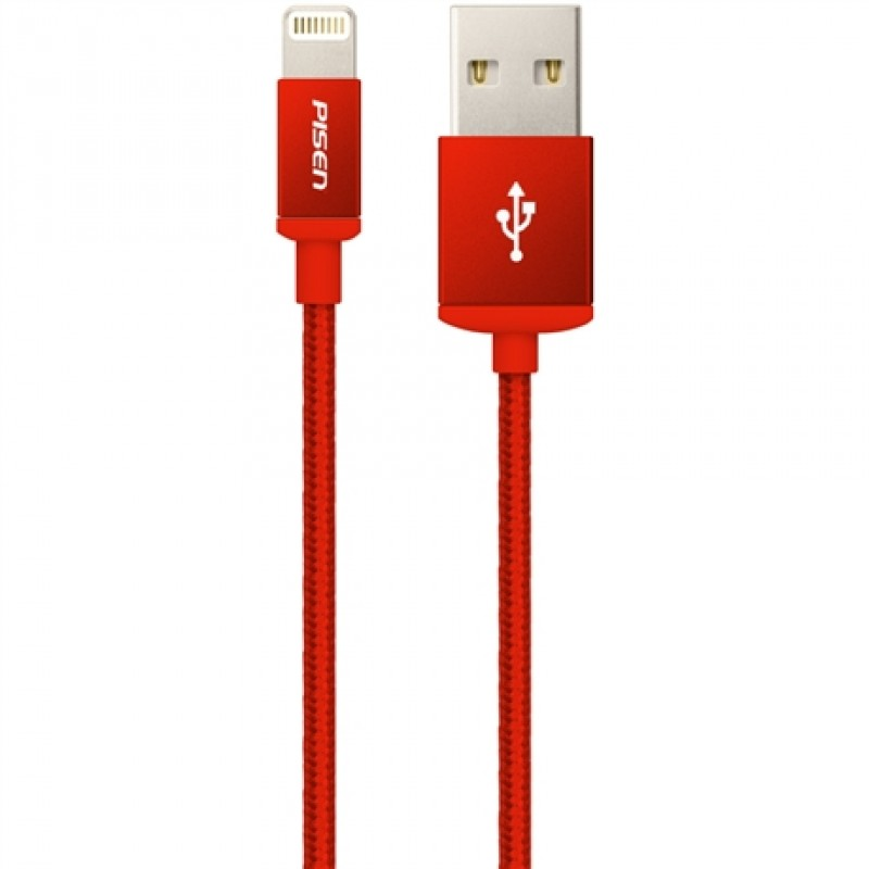 Cáp Pisen Double sided USB Lightning 1m AL06-1000 2