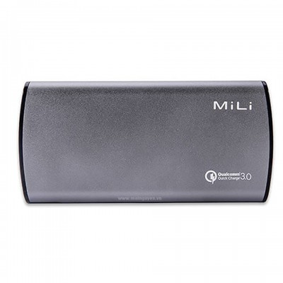 Pin dự phòng MiLi Power Miracle III (HB-Q10) 10000mAh Quick Charge 3.0