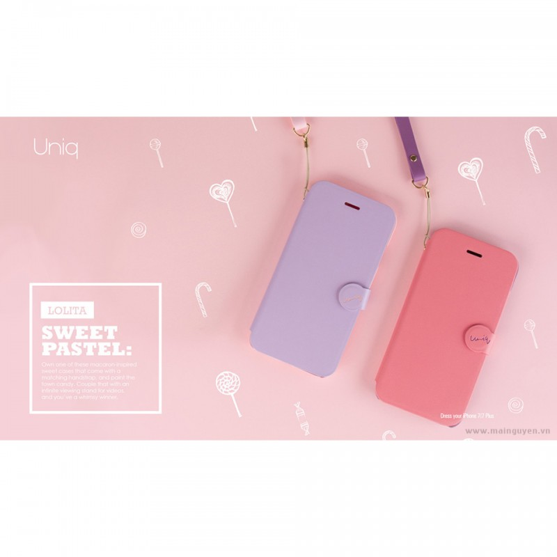 Bao da cho Apple iPhone 7 - Uniq Lolita 2