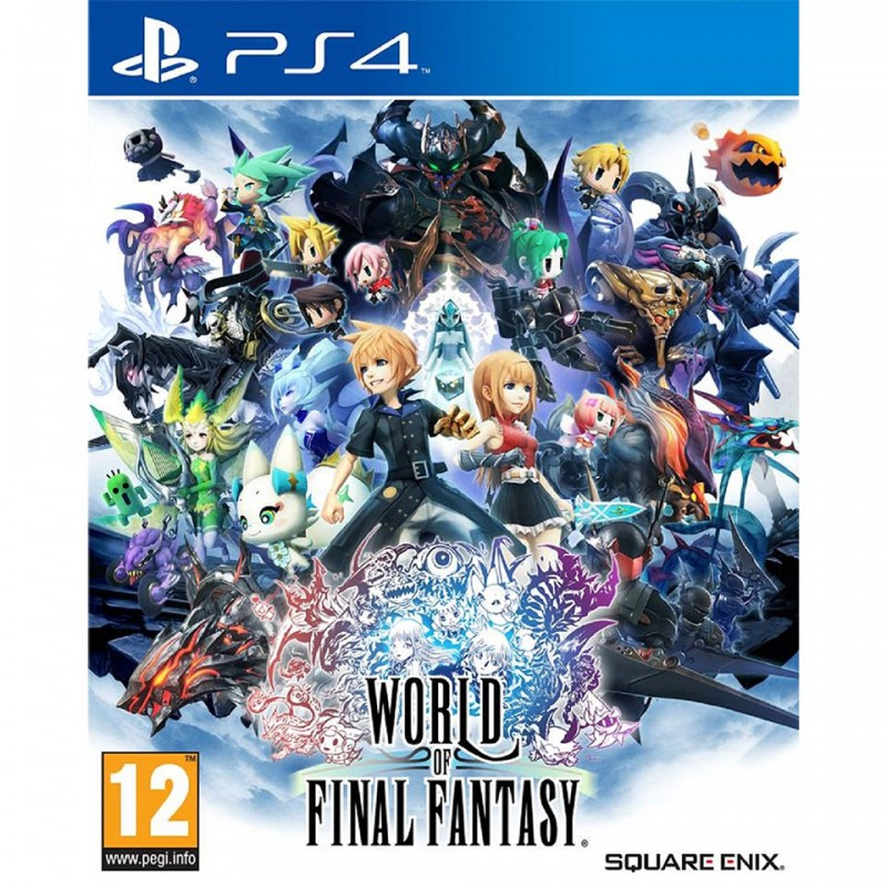 WORLD OF FINAL FANTASY (PCAS-00070) 1