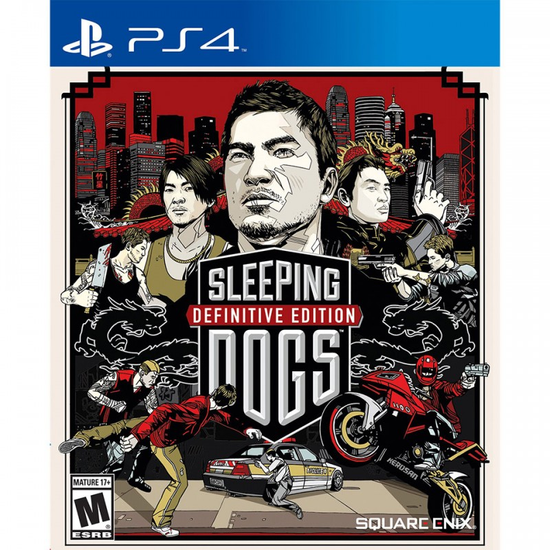 Sleeping Dogs Definitive Edition (PCAS-00009)