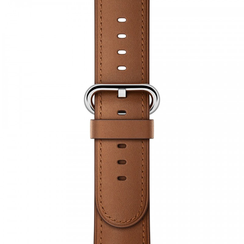 Apple Watch Series 2 42mm Stainless Steel Case with Saddle Brown Classic Buckle MNPV2VN/A 3