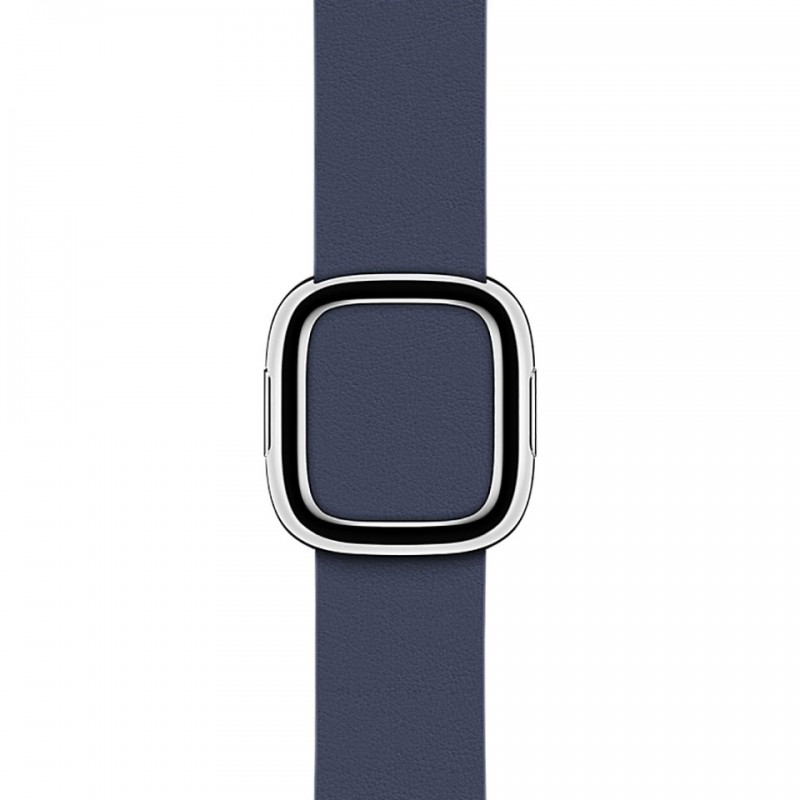 Apple Watch Series 2 38mm Stainless Steel Case with Midnight Blue Modern Buckle - Medium MNP92VN/A 3