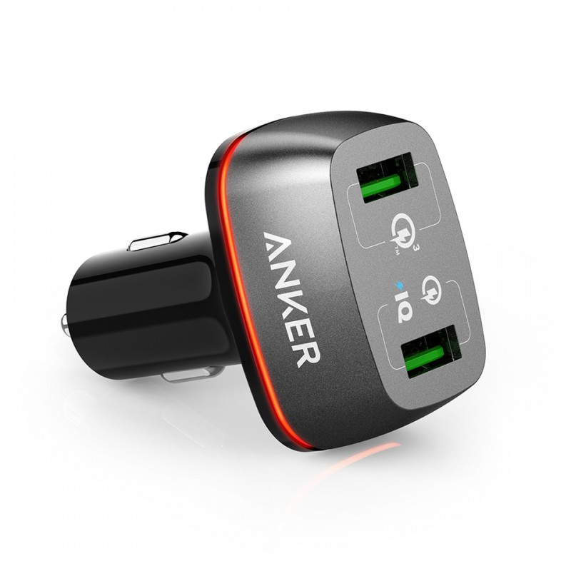 Sạc xe hơi Anker PowerDrive+ 2 with Quick Charge 3.0 A2224 1