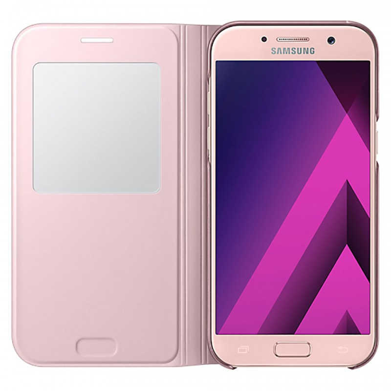 Samsung Galaxy A7 2017 S-view Standing Cover 14
