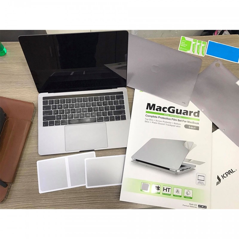 Miếng dán bảo vệ JCPal MacGuard (5 in 1) cho MacBook Pro 15 inches  2016 - 2020 JCP2225/JCP2226 6