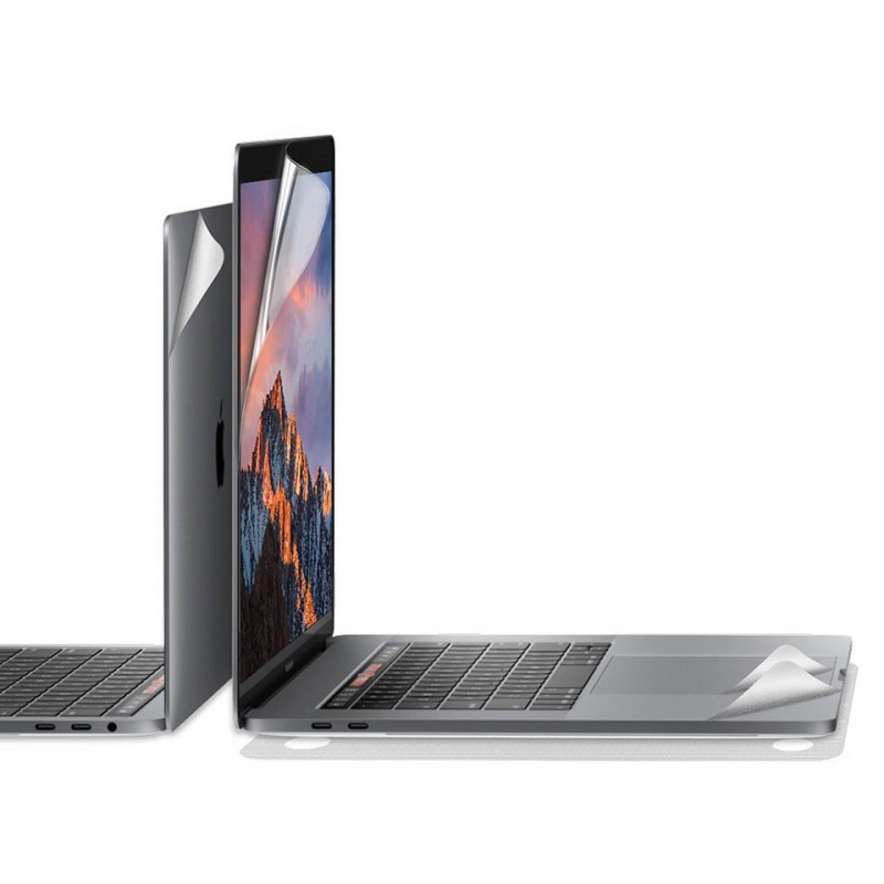 Miếng dán bảo vệ JCPal MacGuard (5 in 1) cho MacBook Pro 15 inches  2016 - 2020 JCP2225/JCP2226 5