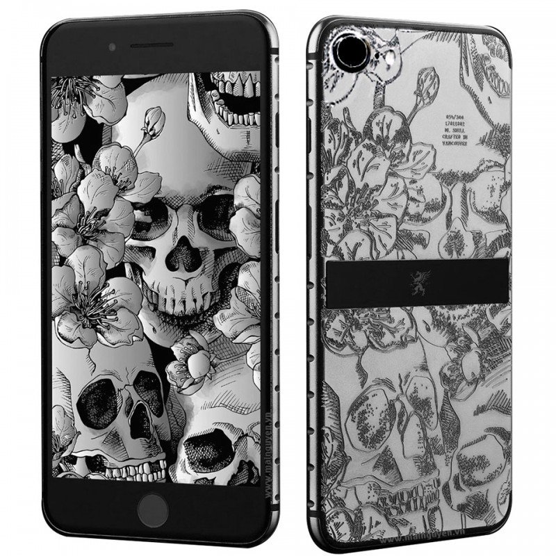 Mobiado GRAND7 ML - Skulls & Flowers