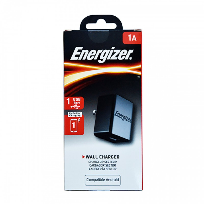 Sạc Energizer CL 1A 1USB ACA1AUSC for Android/iPhone 7