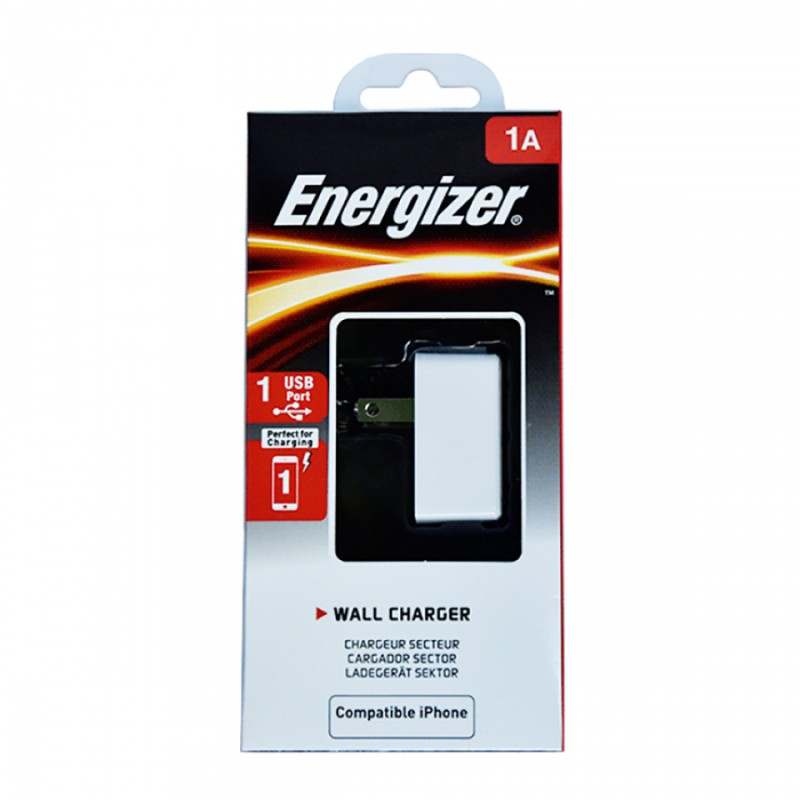 Sạc Energizer CL 1A 1USB ACA1AUSC for Android/iPhone 2