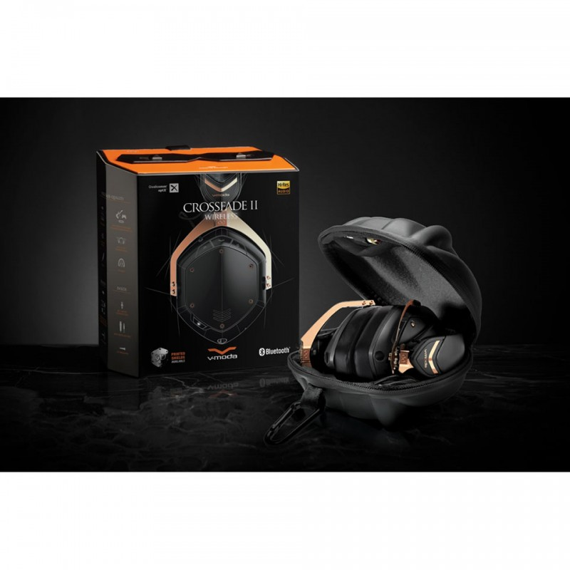 Tai nghe Bluetooth V-MODA Crossfade 2 Wireless (Rose Gold Black) 6