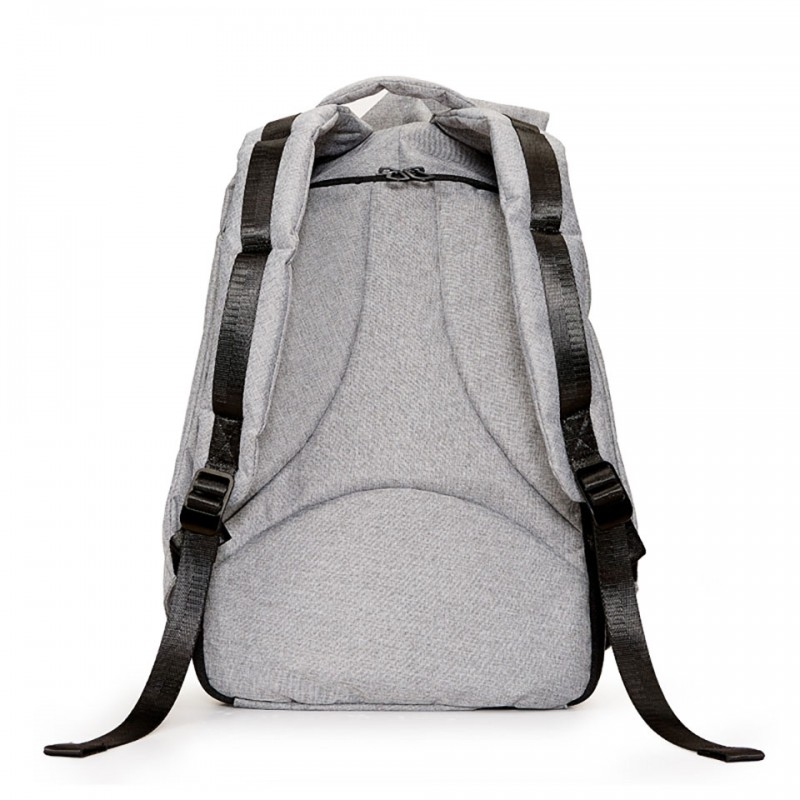 "Balo Ofiyaa Zeus Laptop 15""(OFI1707) Backpack M Grey 3"