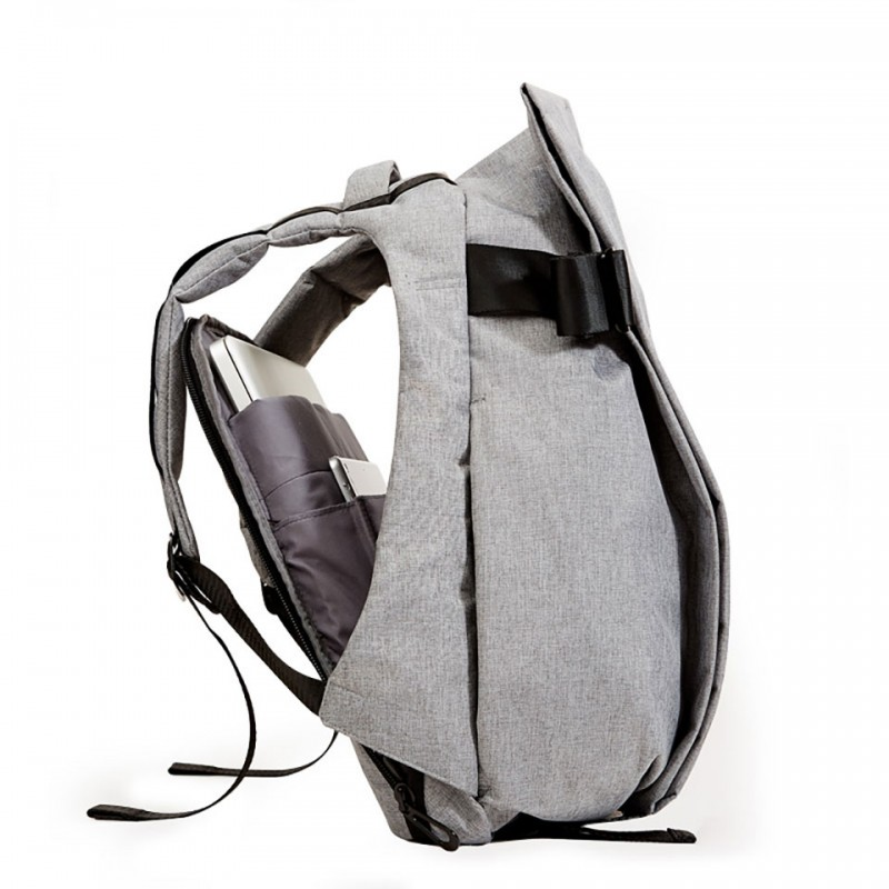 "Balo Ofiyaa Zeus Laptop 15""(OFI1707) Backpack M Grey 2"
