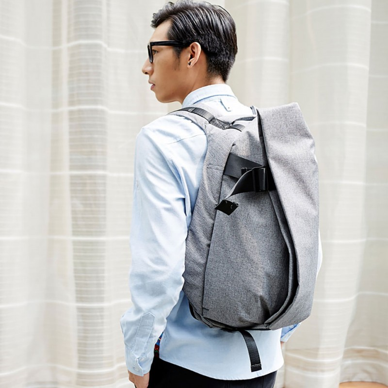 "Balo Ofiyaa Zeus Laptop 15""(OFI1707) Backpack M Grey 5"