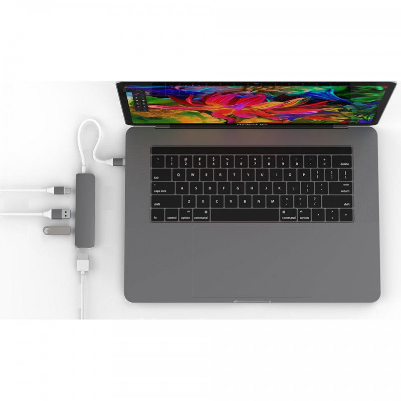 Adapter HyperDrive USB Type-C Hub with 4K HDMI Support GN22B 3
