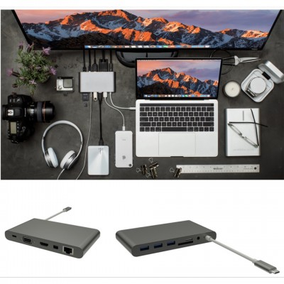 Hyperdrive USB-C Ultimate USB Hub GN30