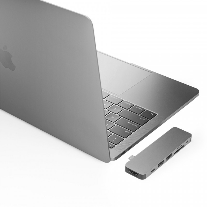 HyperDrive SOLO 7-in-1 USB-C Hub for MacBook, PC GN21 4