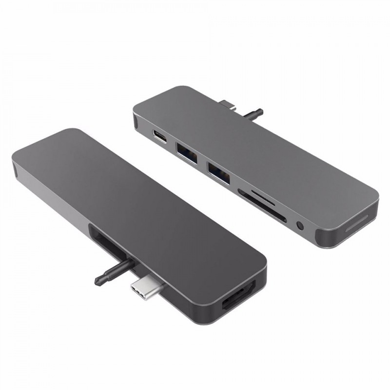 HyperDrive SOLO 7-in-1 USB-C Hub for MacBook, PC GN21 1